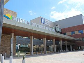 Milton District Hospital Expansion Case Study for Design-Build