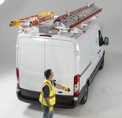 Weather Guard Introduces Drop Down Ladder Racks